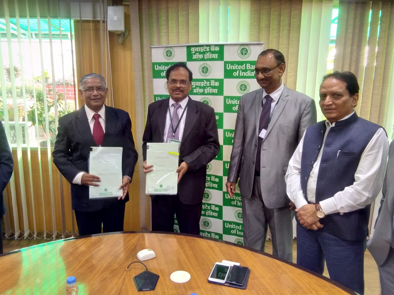 nesl2 - United Bank of India has entered into IU Agreement with NESL on 18th Feb  2019 for availing IU Services.
